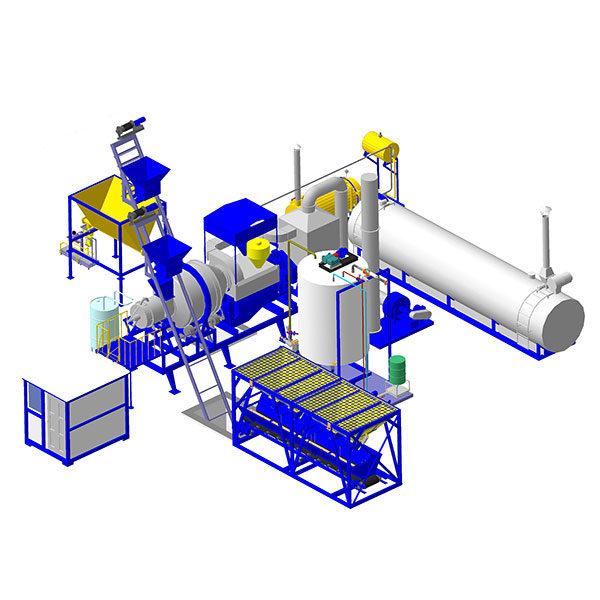 Завод для производства холодного асфальта
