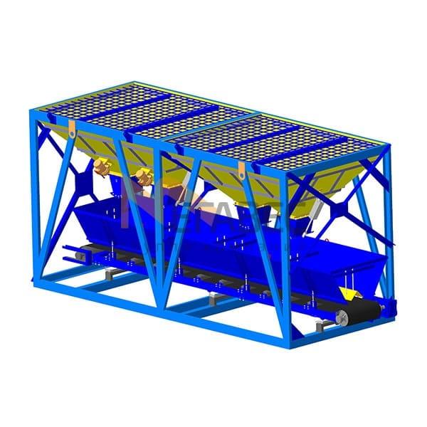 Транспортер инертных материалов кузов т4 транспортер