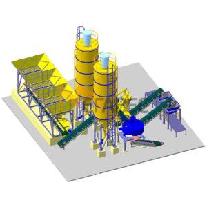 Специальный бетонный завод